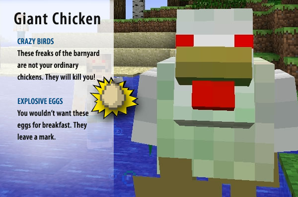 how to kill all chickens in minecraft