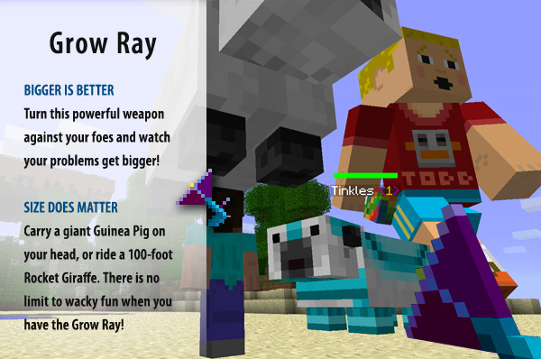 How To Build A Shrink Ray Minecraft